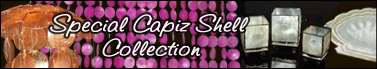 Special Capiz Shell Collection best blend for Capiz Walling and creative wall decoration ideas