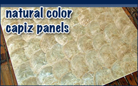 Capiz Panels Shell Decoraion Ideas  Interior Wall Covering